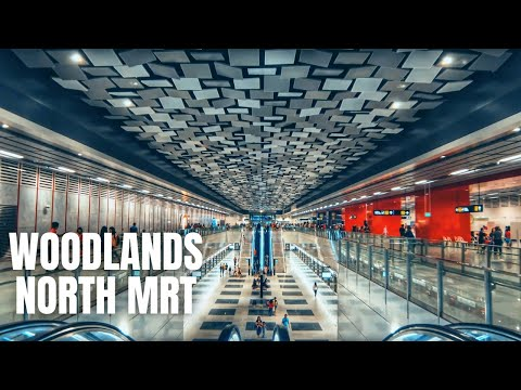 Woodlands North MRT to Republic Polytechnic (Open House 2020) Singapore Walking Tour