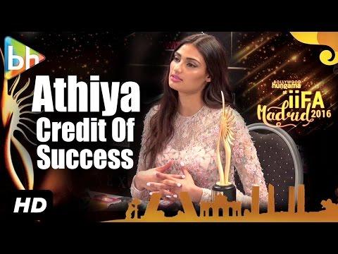 Athiya Shetty Gives Credit For Her Success To Salman Khan | Nikhil Advani