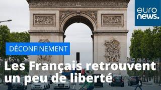 La France ouvre les portes, après 55 jours de confinement strict
