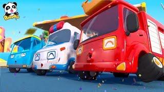 ★NEW★工程車、救護車、消防車兒歌,怪獸車比賽開始+更多合集 | 兒歌 | 童謠 | 動畫片 | 卡通片 | 寶寶巴士 | 奇奇 | 妙妙