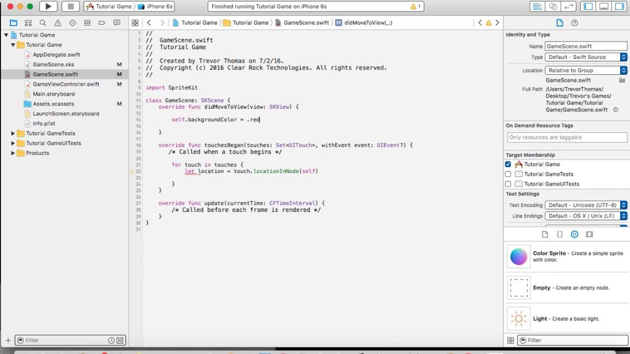 Background image xcode - Set A Background Color With Xcode And Swift