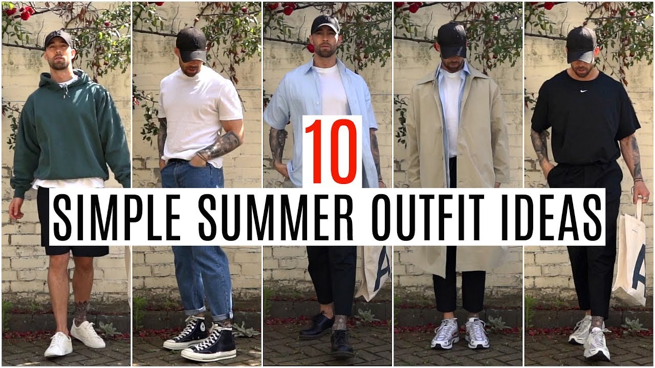 38491dded0b 10 SIMPLE SUMMER OUTFIT IDEAS | Men's Fashion 2019 | Daniel Simmons -  Outfit YT