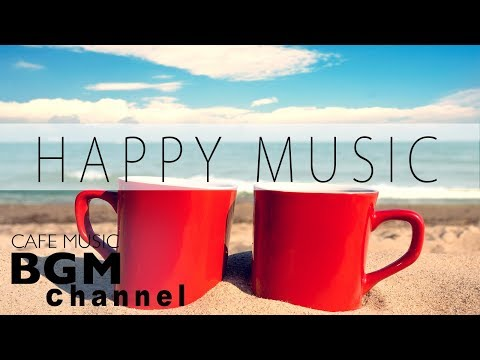Happy Cafe  - Latin Jazz Bossa Nova  - Instrumental  For Study Work