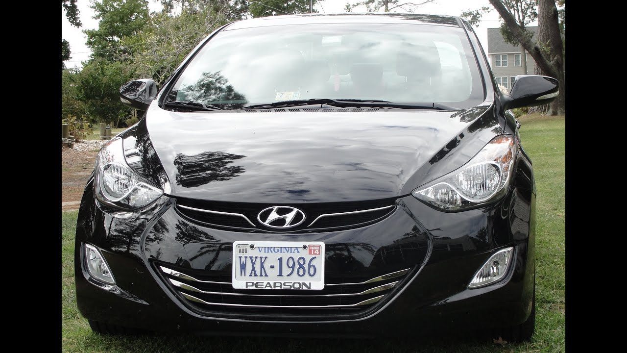 Wonderful 2013 HYUNDAI ELANTRA LIMITED ~ GAS MILEAGE UPDATE ~ 1 YR. OWNERSHIP 46.8 MPG  LAST TRIP!
