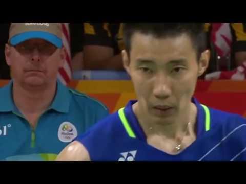 Lee Chong Wei vs Chen Long Olympic Rio 2016 - Chung kết