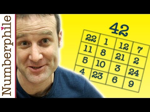 4x4 Magic Square - Any Even Magic Square - In 3 simple steps