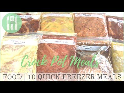 FOOD | 10 Quick Slow Cook Freezer Meals