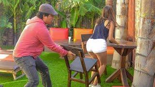 Chair Pulling Prank in Honolulu!!!