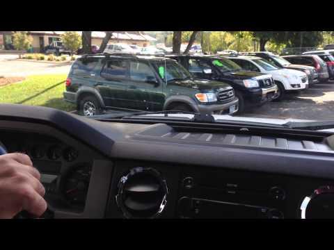 2008 Ford F250 XLT, Crew cab, 4X4, 6.8 Gas V10