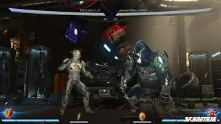 Injustice 2 FLASH NEW ABILITY COMBOS GEAR ON