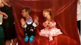 Веселый конкурс на свабьбе. Первая встреча молодоженов.Тамада Днепропетровск