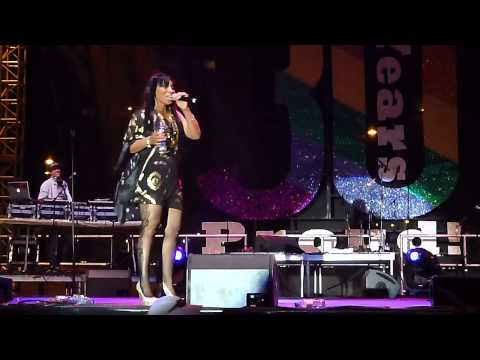 Adina Howard - Talks About Love (Live @ Long Beach Pride) 5-19-13
