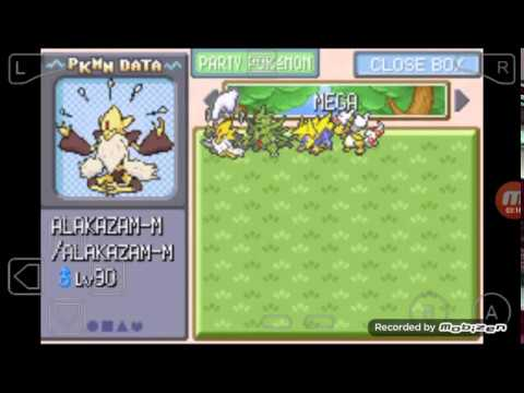 Pokémon Resolute Cheats and Mega Mawile