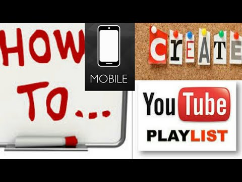 Create and edit playlists in YouTube's Android app.