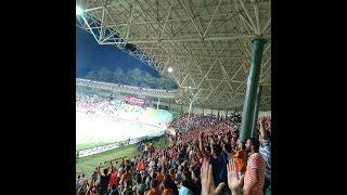 Alanyaspor 3 Trabzon 0 Tribün görüntüleri Meksika dalgası
