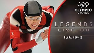 "Clara Hughes - The ""Olympic Delinquent"" Who Won Six Medals 