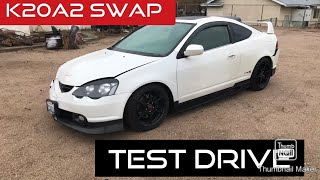 Acura rsx type s test drive