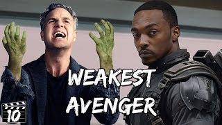 Top 10 Weakest Avengers Characters