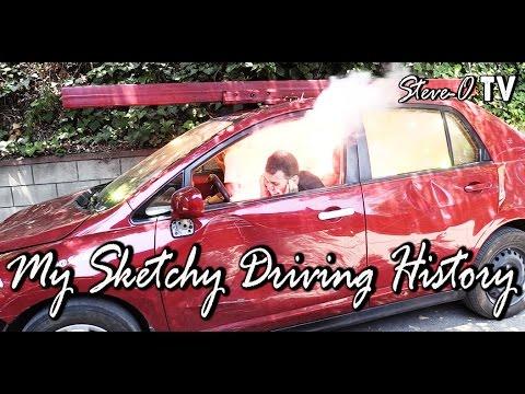 My Sketchy Driving History - Steve-O