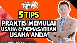 Download Video Coach Hendra Hilman - 5 Tips Praktis Memulai Usaha & Memasarkan Usaha Anda MP3 3GP MP4