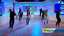 Zendaya Coleman  & Bella Thorne Bailando En GMA Good Morning America