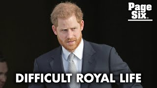 Prince Harry says British media was 'destroying my mental health'   Page Six Celebrity News