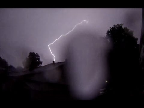 8/10/2015 -- Monster Storm hits St. Louis Missouri -- Intense lightning and flooding rains