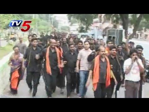 Teacher Beats Student for Wearing Ayyappa Mala : TV5 News