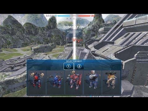 War Robots [3.4] Test Server - NEW Multi-Hanger Feature