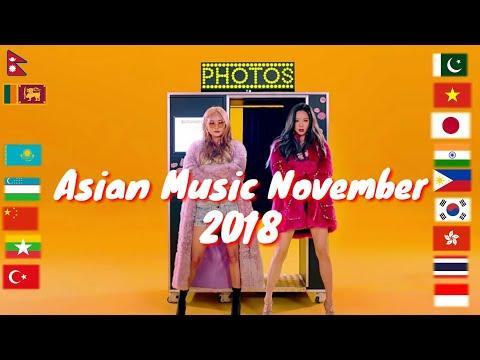 Asian Music in November 201811/2018