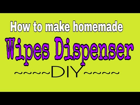 How to make homemade wipes dispenser diy wipes case how to make homemade wipes dispenser diy wipes case solutioingenieria Choice Image