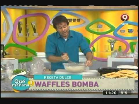 Wafles bomba