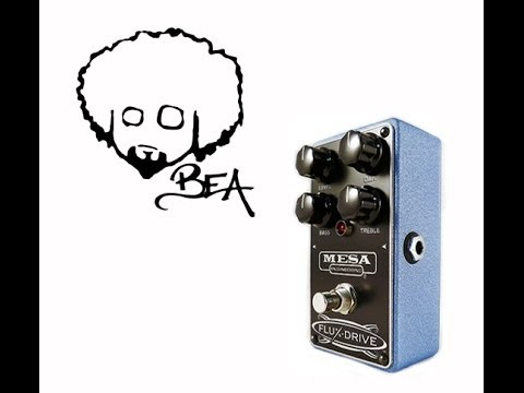 Afro Demo - Mesa Flux Drive Distortion Pedal