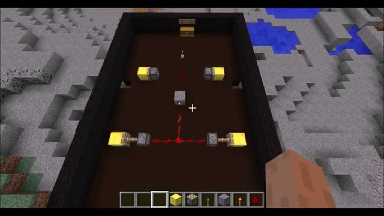 Minecraft How To Make An Inverse Redstone Circuit YouTube - Minecraft redstone hauser