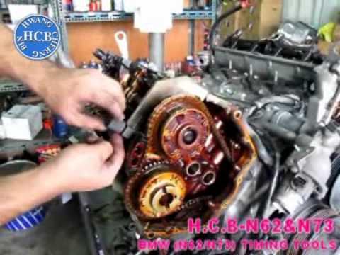 I Engine Diagram H C B N62 Amp N73 Bmw N62 N73 Timing Tools Youtube