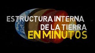 ESTRUCTURA INTERNA DE LA TIERRA en minutos