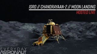 Watch India attempt to land softly on the moon!