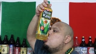 Aloe Vera King 50.7oz (1.5L) Shotgun Chug in 18 seconds