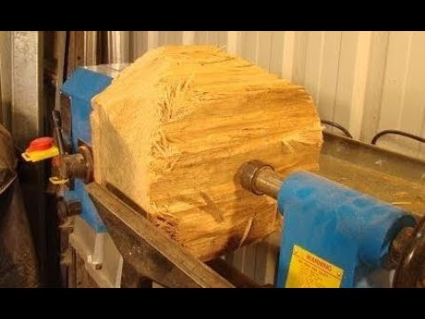 The $137,000 mind blowing  bowl  from a $0.50 log  wood-turning