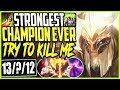 THE STRONGEST NEXUS BLITZ CHAMPION EVER | TRY TO KILL ME | Nexus Blitz Yorick Season 9 Gameplay
