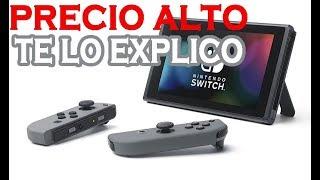 El verdadero motivo de los precios altos de Nintendo. EXPLICADO.