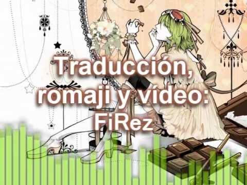 (SUB-ESP + Romaji + MP3) Chocolate (Gumi)