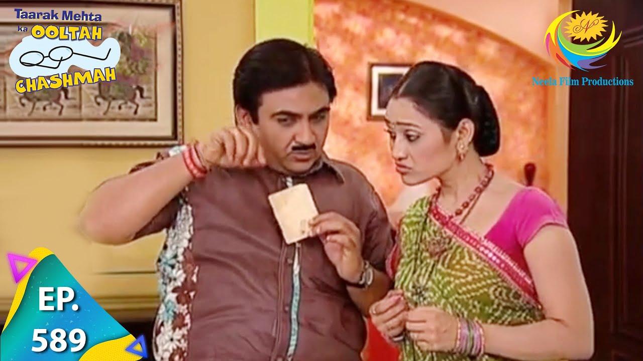 Download Taarak Mehta Ka Ooltah Chashmah - Episode 589 - Full Episode