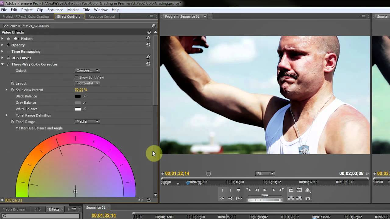 DVTV - Color Correction with Premiere Pro CS4 CS5