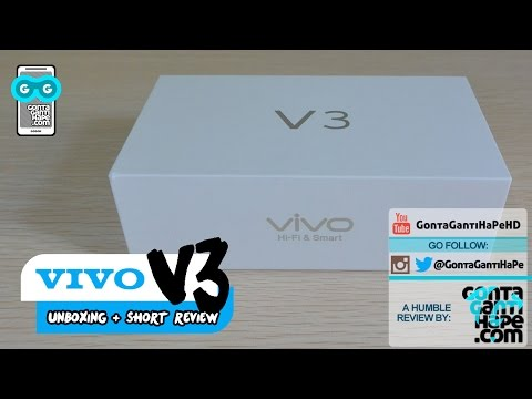 VIVO V3 - Unboxing & Review PANJAAAAANNGGG