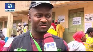 Osun Decides: Election Observer, Samson Itodo Updates On Card Reader
