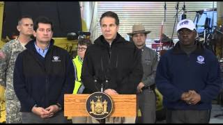 Governor Cuomo's Afternoon Briefing on Western NY Storm Conditions