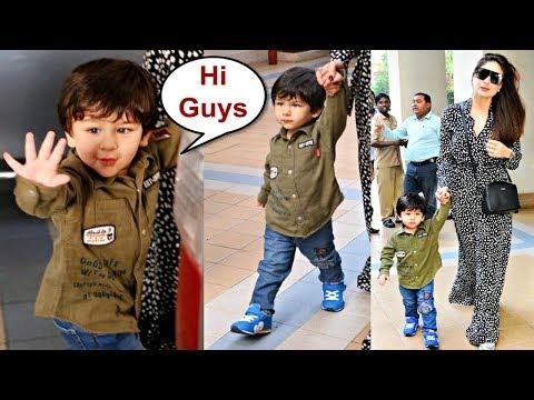 Taimur Ali Khan Walking In Swag With Mommy Kareena Kapoor Mp3