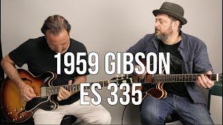 Vintage Guitars - 1959 Gibson ES 335 Sunburst Guitar Demo W Jason Sinay