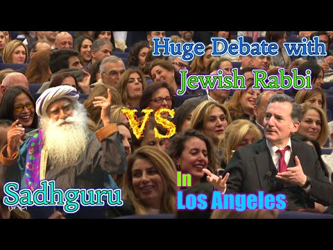 Sadhguru Debates Jewish Rabbi In Los Angeles, California
